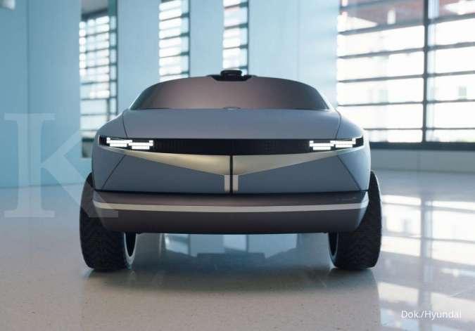 Hyundai rilis mobil listrik terkecil di dunia, punya kemiripan dengan Hyundai EV 45