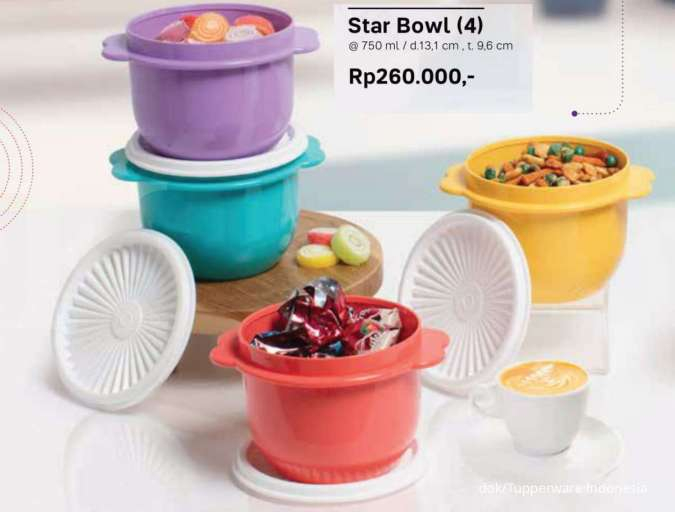 Promo Tupperware November 2020, ada Warmie Set, Bentoholic Set, Tumbler, Modular Bowl