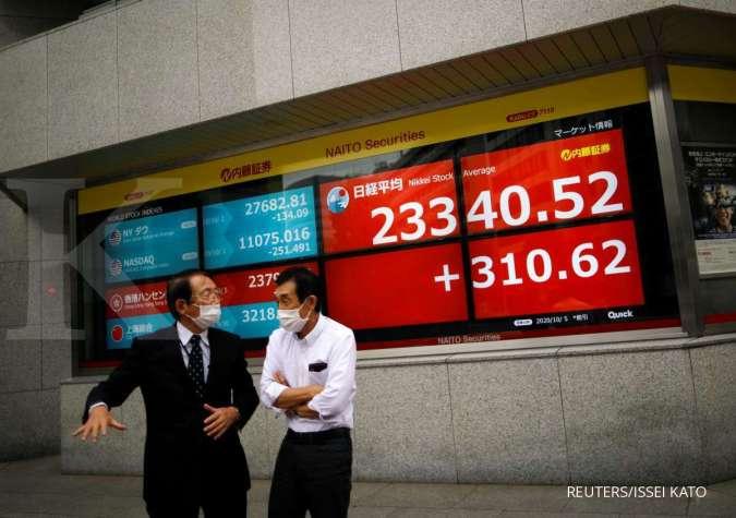 Kombinasi sentimen positif, bursa Asia dibuka menguat pada hari ini (24/11)