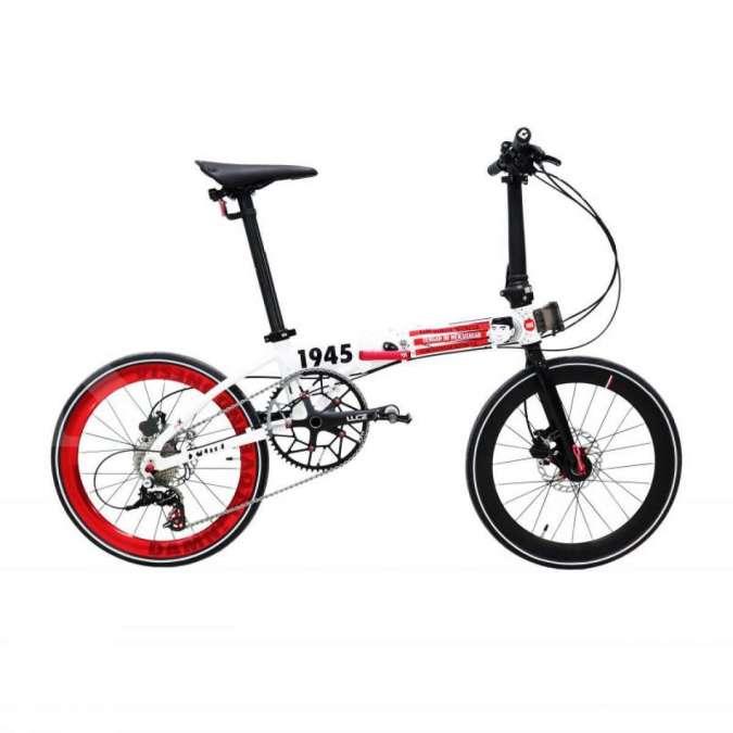 Baru, ini harga sepeda lipat Foldx Xlite Damn I Love Indonesia versi Indonesia