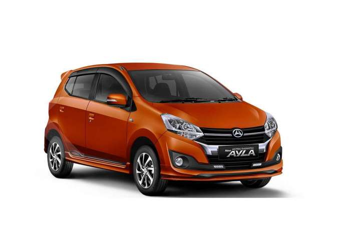 Harga mobil baru Daihatsu Ayla