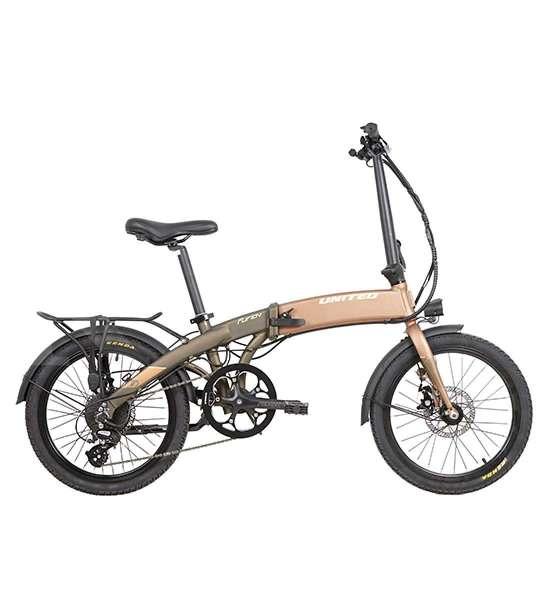 Generasi baru, harga sepeda lipat listrik United Furion 20.1 gak mahal-mahal amat