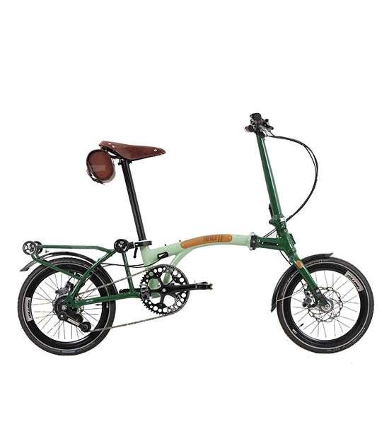 Tampil segar, harga sepeda lipat United Trifold 11S LE hijau bikin pusing kepala