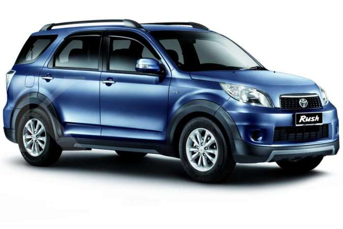 Harga mobil bekas Toyota Rush