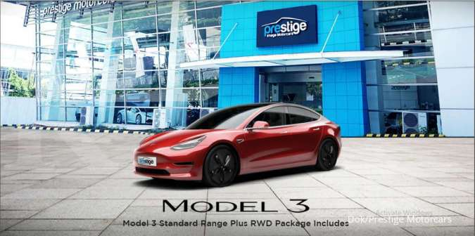 Wah Tesla Model 3 Sudah Dijual Di Tokopedia