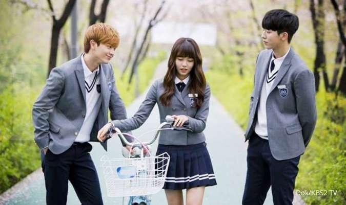 10 Drakor menarik, daftar drama Korea terbaik tentang cerita romantis di sekolah