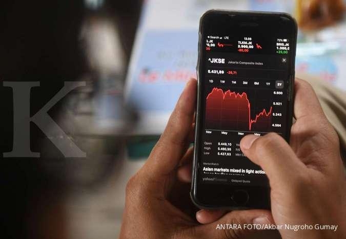Intip saham-saham favorit asing saat IHSG menguat Kamis (26/11)