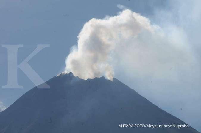 Khawatir Gunung Merapi meletus, warga di Klaten kembali ke pengungsian