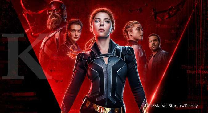 Black Widow dibintangi Scarlett Johansson di Marvel Cinematic Universe.