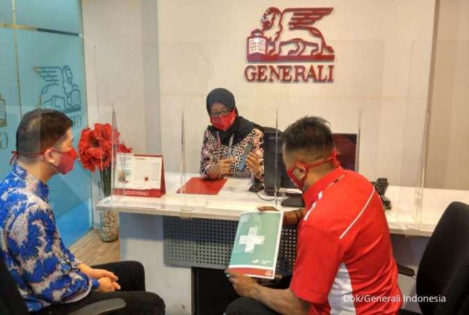 Pelayanan klaim nasabah asuransi GeneraliIndonesia.