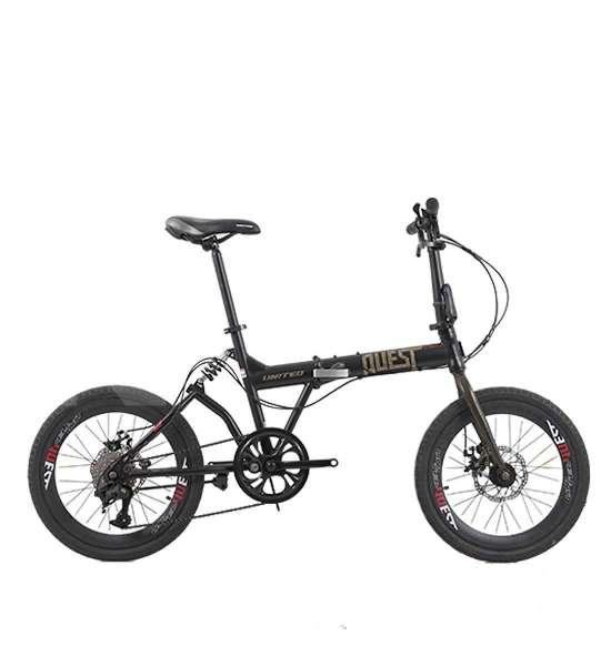 Siap menaklukkan jalanan, harga sepeda lipat United Quest C1.04 super murah
