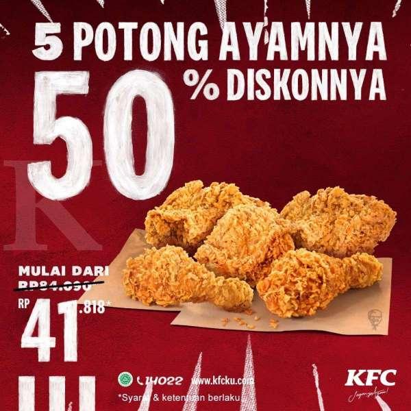 Promo KFC hari ini periode 24-26 November 2020