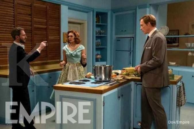 Serial WandaVision yang akan tayang di Disney+ dibintangi Elizabeth Olsen dan Paul Bettany.