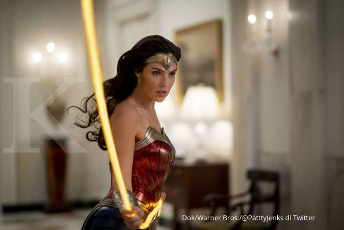 Gal Gadot dalam film Wonder Woman 1984.