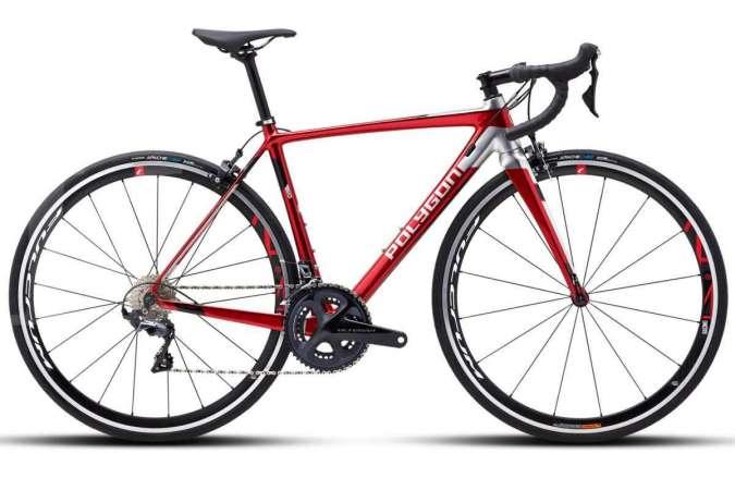 Jagoan sepeda balap, harga sepeda balap Polygon Helios LT8 bikin dompet tipis