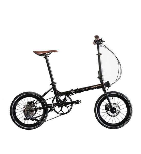 Mudah dilipat, harga sepeda lipat United Black Horse X Janji Jiwa pas di kantong