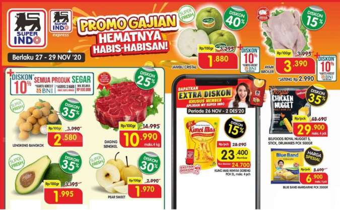 Promo JSM Superindo 27-29 November 2020, diskon weekend!