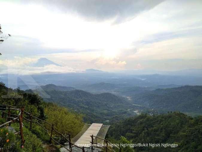 Rekomendasi tempat camping di Yogyakarta, ke Bukit Ngisis Nglinggo