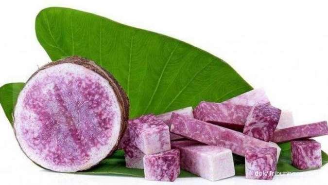 Manis rasanya, ini manfaat talas ungu untuk kesehatan tubuh