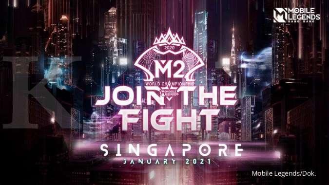 Kompetisi tingkat dunia M2 Mobile Legends digelar di Singapura Januari 2021