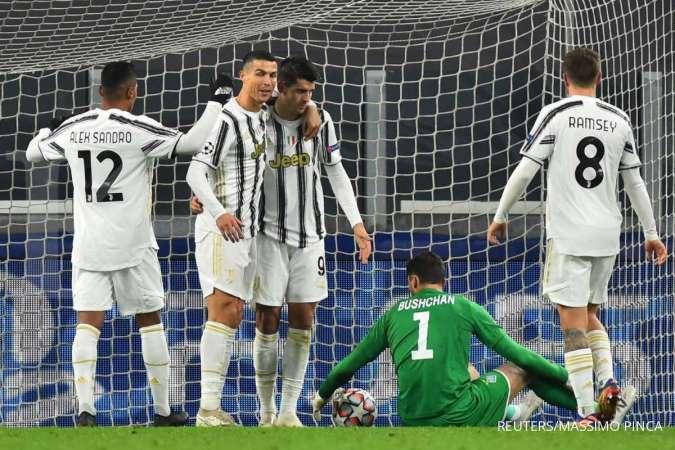 Cristiano Ronaldo jelang laga AC Milan vs Juventus di Liga Italia Serie A