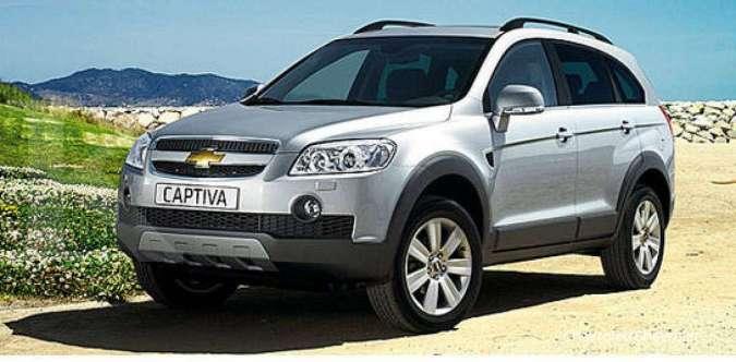 Mulai Rp 60 juta, harga mobil bekas Chevrolet Captiva sudah murah