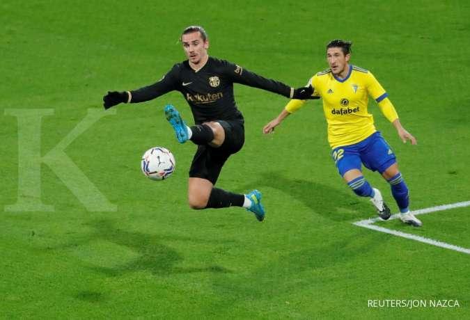 Jelang petandingan La Liga Spanyol antara Athletic Bilbao vs Barcelona
