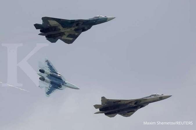 Jet tempur Sukhoi Su-57