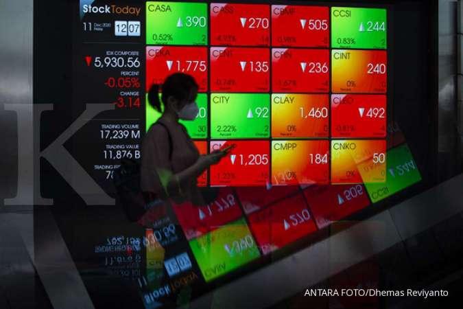 Asing manfaatkan penurunan IHSG dengan mengoleksi saham-saham ini pada Kamis (14/1)