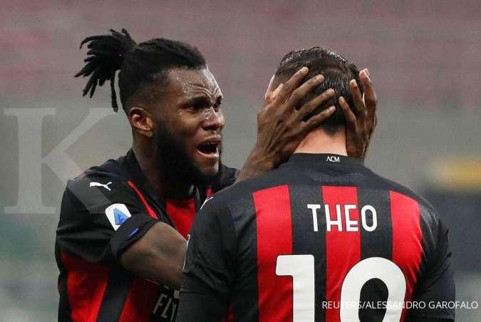 Jelang laga AC Milan vs Juventus di Liga Italia Serie A