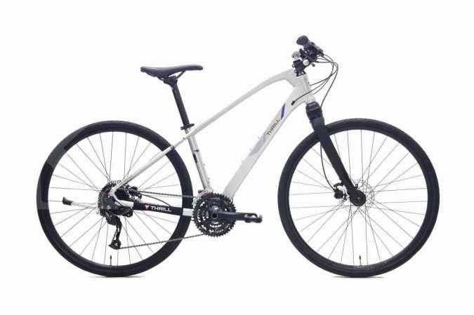 Keluaran terbaru seri Volare, harga sepeda gunung Thrill Volare 2.0 lumayan mahal
