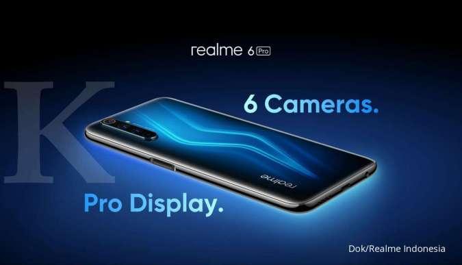 Harga HP Realme 6 Pro dengan 6 kamera makin murah, dilengkapi 2 kamera selfie