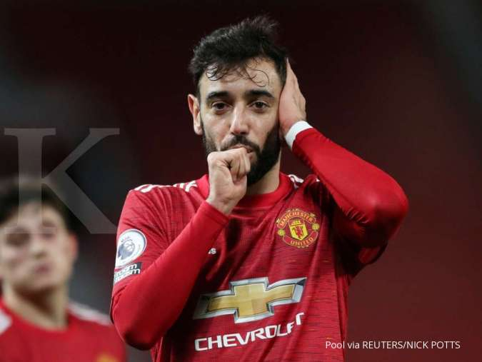 Bruno Fernandes jelang Derby Manchester di Carabao Cup, Man United vs Man City
