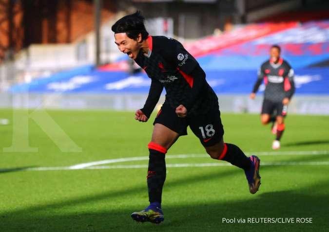 Takumi Minamino tidak menjadi starter jelang laga Newcastle vs Liverpool