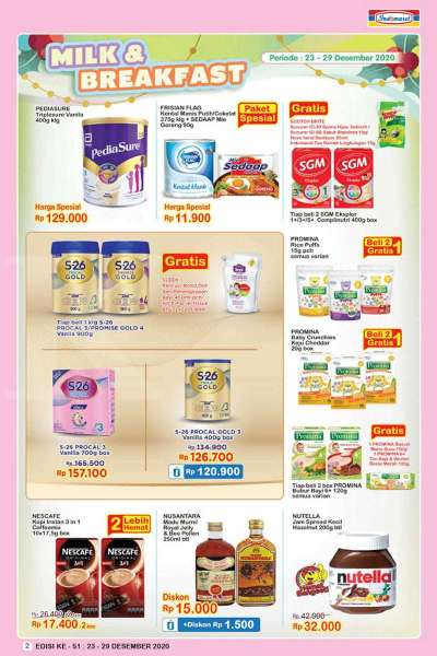 Weekly IndoMate Advertising 23-29 Desember 2020