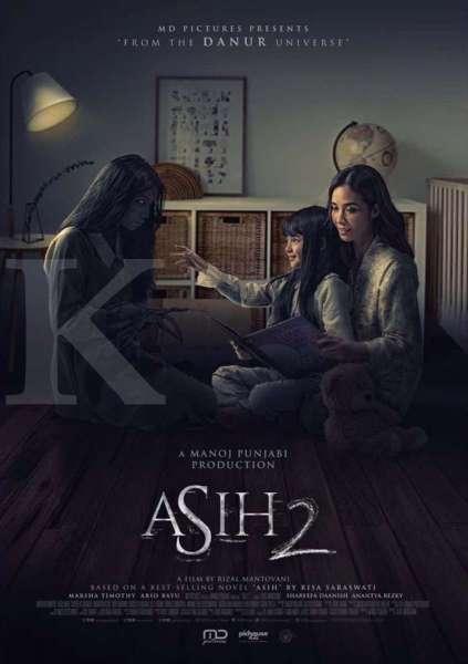 Film Indonesia terbaru, film horor Asih 2 yang dibintangi Marsha Timothy segera tayang Desember di bioskop.