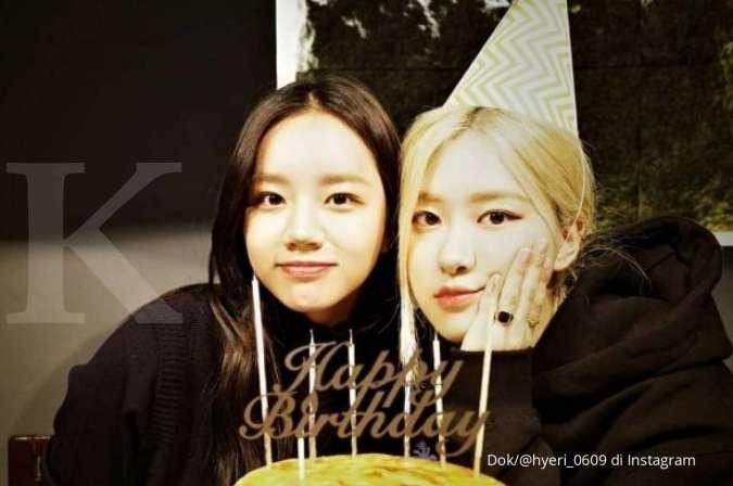 Rose BLACKPINK dukung drama Korea terbaru Hyeri Girl's Day yang dibintangi bersama Jang Ki Yong.