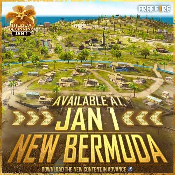 New Bermuda Garena Free Fire