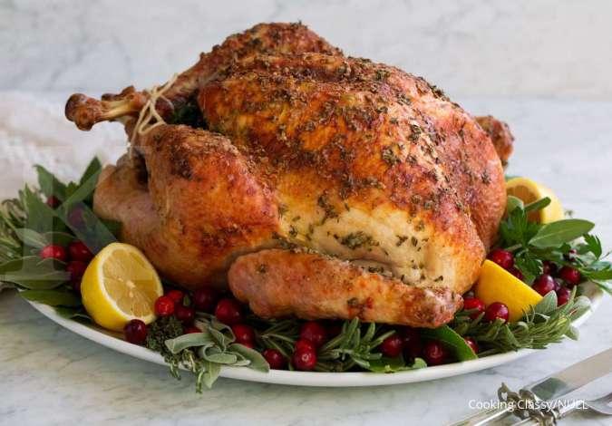 Kalkun termasuk dalam salah satu makanan tinggi protein.