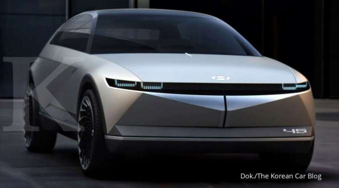 Begini bocoran spesifikasi Hyundai Ioniq 5, mobil listrik berdesain futuristik