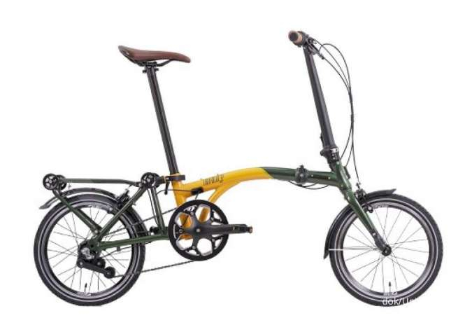 Baru, ini harga sepeda lipat United Trifold 3S 20.1 yang ringan dan ringkas