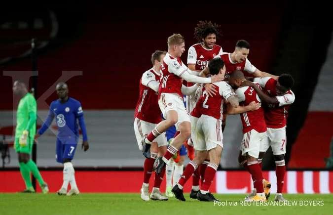 Jelang laga Arsenal vs Crystal Palace di Liga Inggris