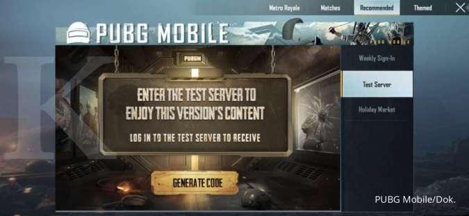 PUBG Mobile Test Server