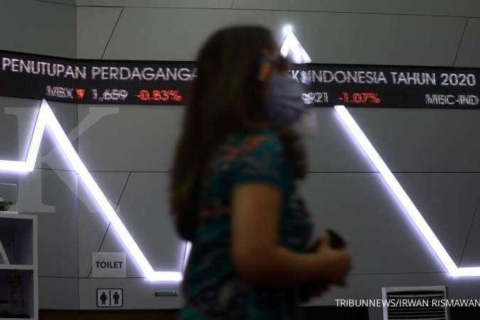IHSG ditutup melemah 1,89% ke 6.140,17, asing borong saham BMRI dan BBRI, lepas saham BBCA dan TLKM. TRIBUNNEWS/IRWAN RISMAWAN