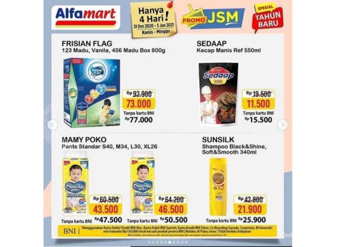 Promo JSM Alfamart Promo 31 Desember-3 Januari 2021