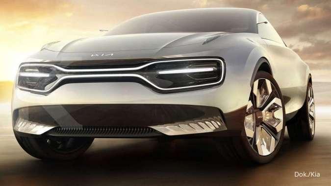 Konsep Imagine Concept yakni mobil listrik milik KIA