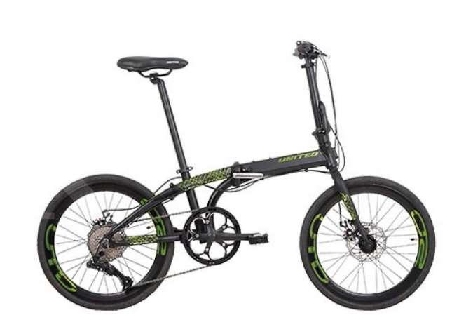 Turun harga, ini harga sepeda lipat United Nigma 10S di awal tahun 2021