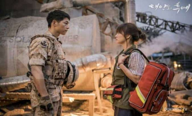 Song Hye Kyo di drama Korea Descendants of the Sun dari penulis Kim Eun Sook.