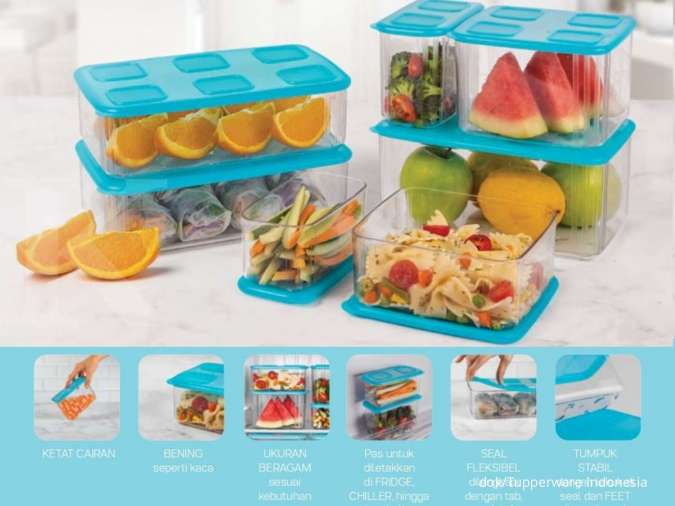 Promo Tupperware Januari 2021 edisi penyimpan snack dan kotak makan diskon hingga 40%