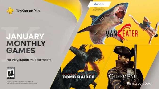 Playstation Plus Januari 2021